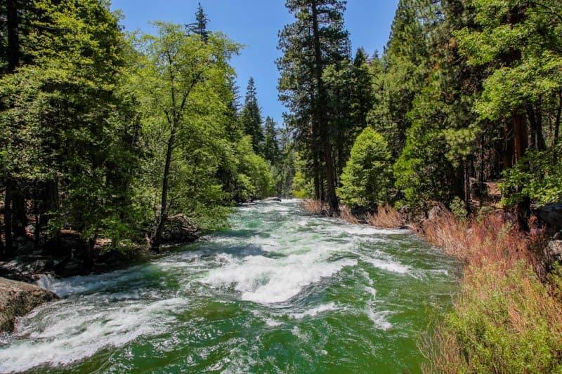Kings River Kings Canyon NP California