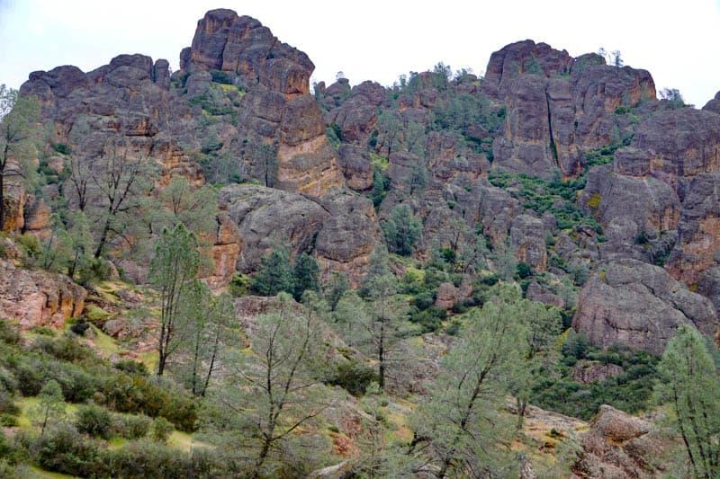 Pinnacles National Park in California