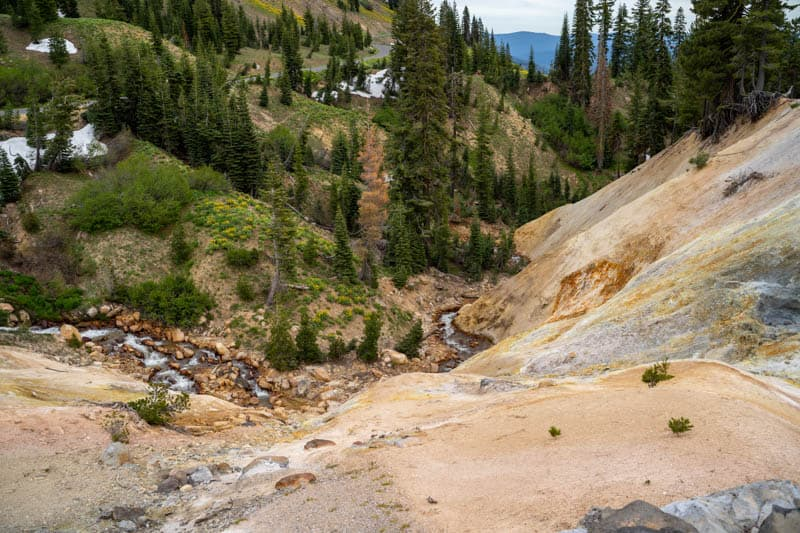 Sulphur Works Lassen Volcanic NP California