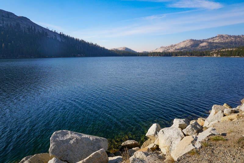 Tenaya Lake in Yosemite National Park, California