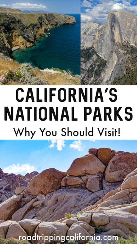 From icons like Yosemite and Death Valley to lesser known gems like lassen Volcanic and Channel Islands, see why you need to visit all of California's gorgeous national parks!