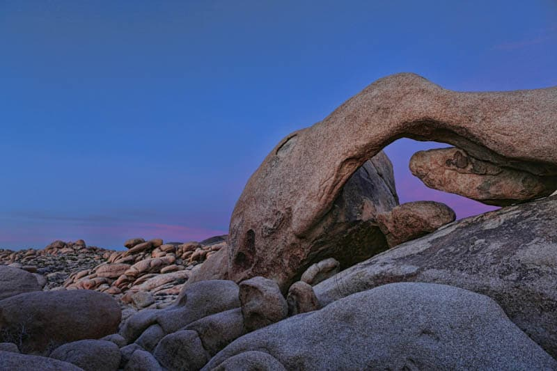 Arch Rock Joshua Tree NP California