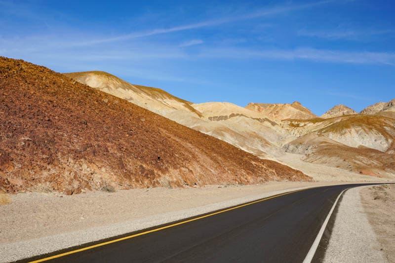 Artist's Drive Death Valley California