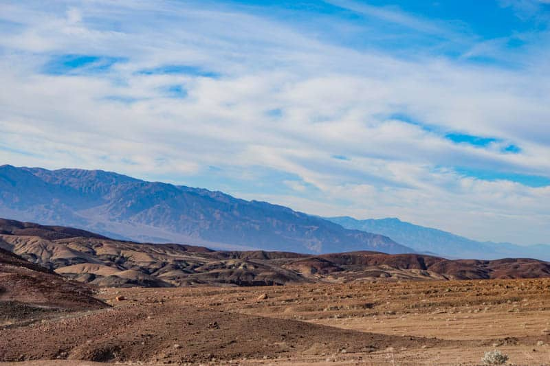 Artist's Drive Death Valley Southern California