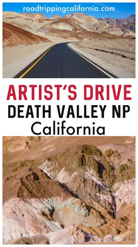 The ultimate guide to Artist's Drive and the Artist Palette viewpoint in Death Valley National Park in southern California.