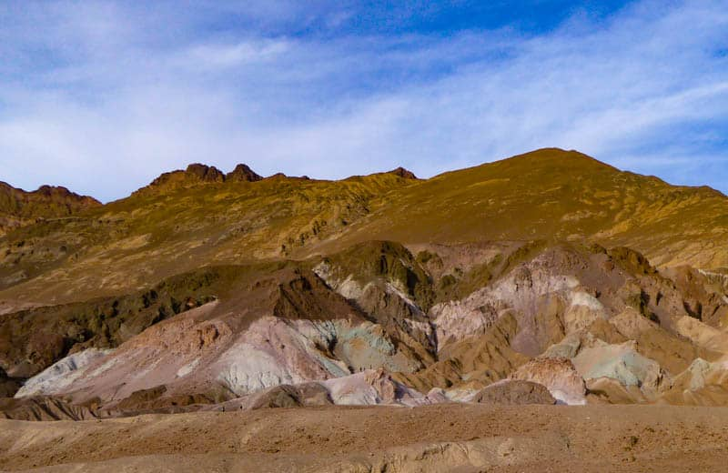 Artist's Palette on Artist's Drive in Death Valley