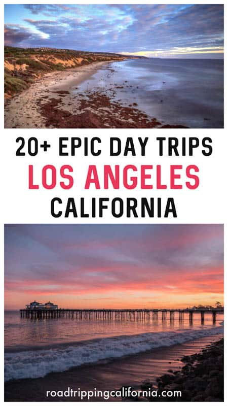 Discover the best day trips from LA: from San Diego in the south to Santa Barbara in the north and Palm Springs in the west, where to go for the day from the City of Angels!