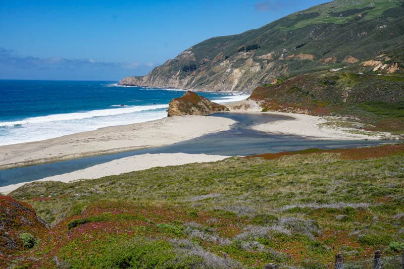 The Big Sur Coast in California is a must-visit on any California road trip itinerary!