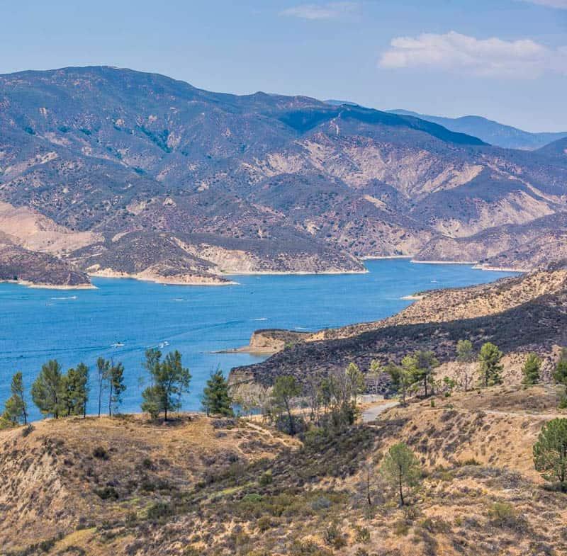 Castaic Lake California