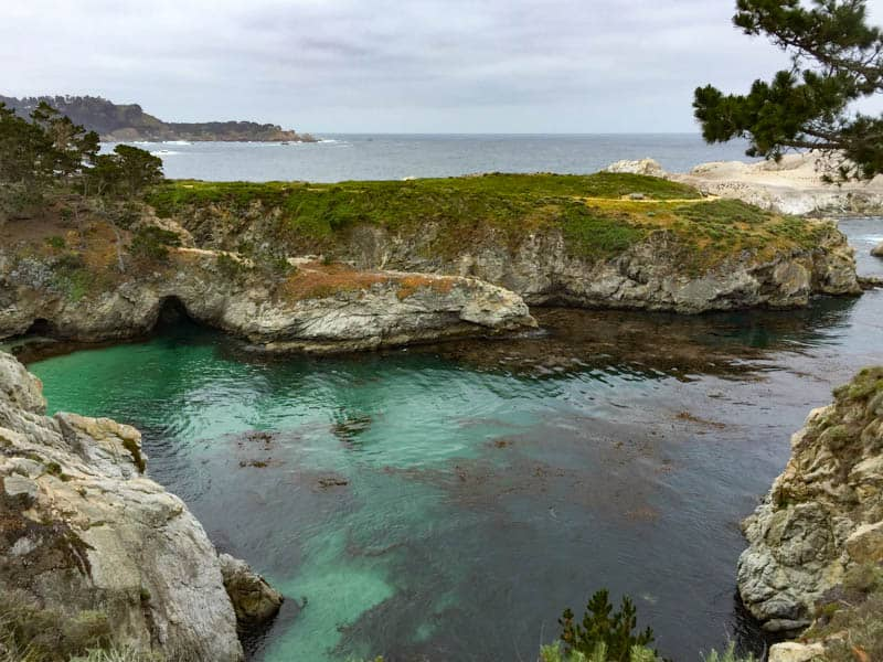 China Cove at Point Lobos State Park in Carmel California