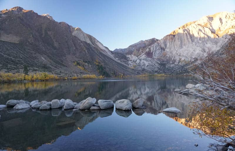 Convict Lake Eastern Sierra California
