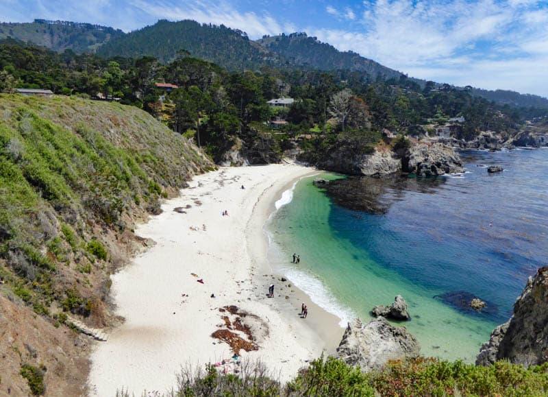 Gibson Beach Point Lobos State Reserve Carmel California