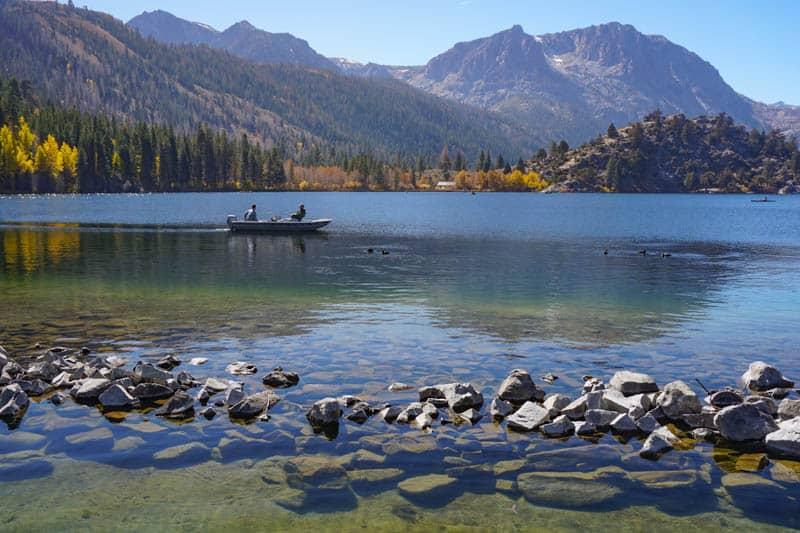 Gull Lake Eastern Sierra California