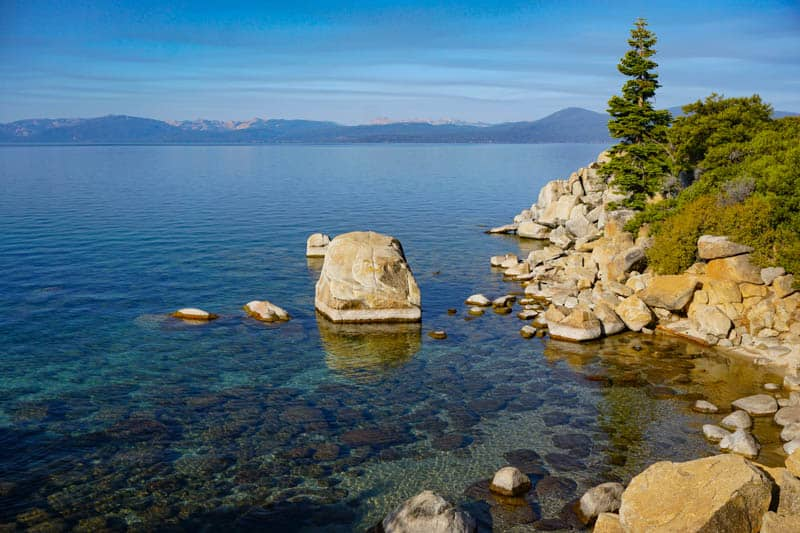 Lake Tahoe High Sierras California-Nevada