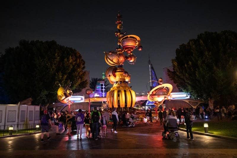 Main Street Disneyland Anaheim California