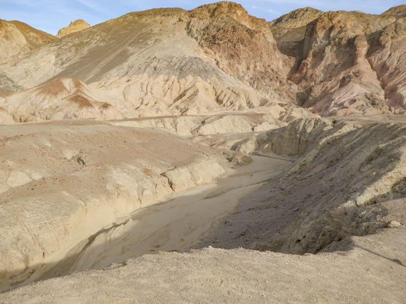 Ravine at Death Valley NP California