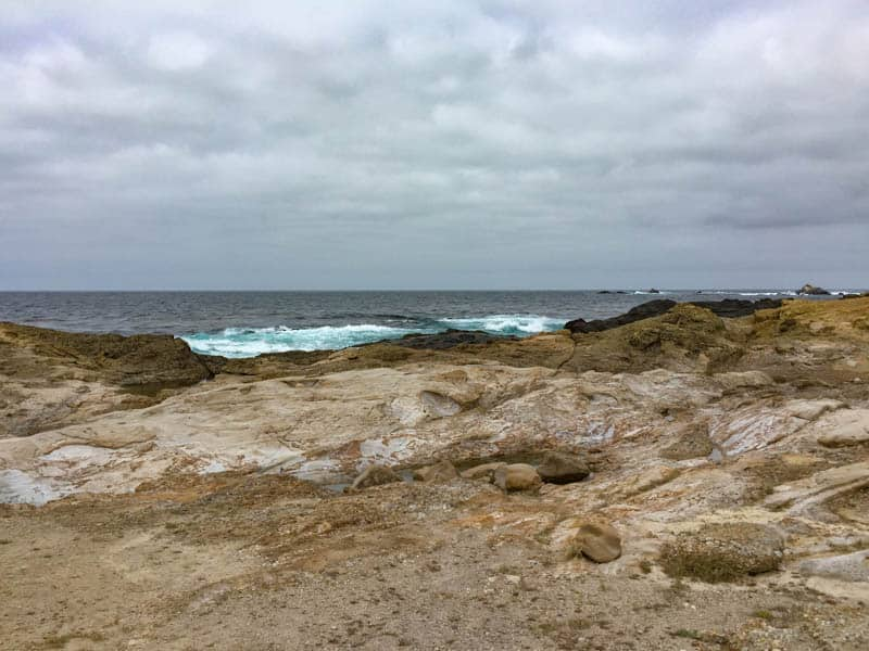 Rocky South Shore Trail in Point Lobos California