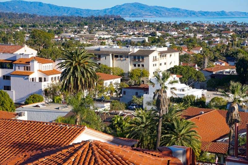 Santa Barbara County Courthouse California