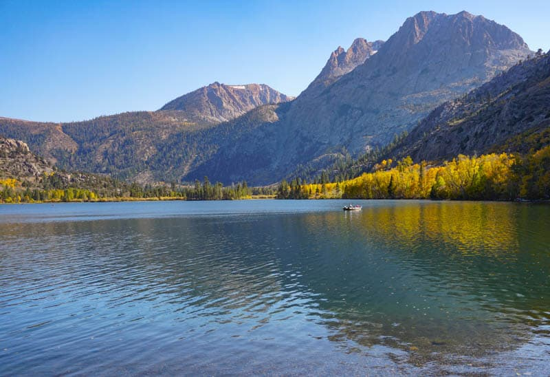 Silver Lake Eastern Sierra California