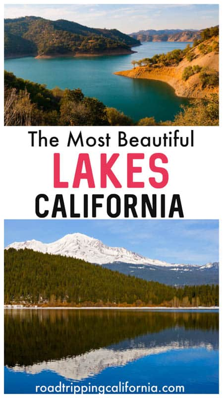 Discover the best lakes in California to put on your must-visit list! From Lake Tahoe in the High Sierra to Big Bear Lake in Southern California and Lake Shasta in the north, you will love these beautiful lakes! Go boating, swimming, camping, fishing, and wildlife viewing!