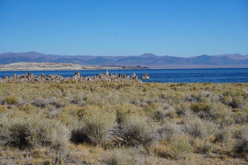 Tufas at Mono Lake in Lee Vining California