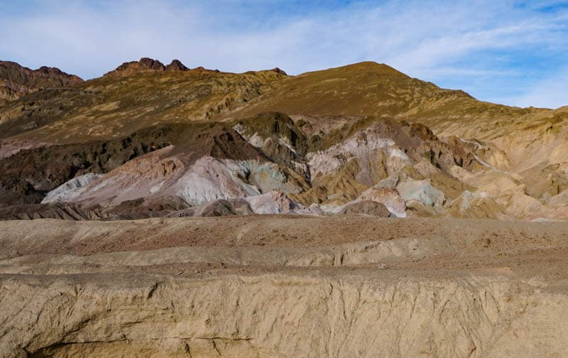 The Artist's Palette is one of Death Valley's most stunning sights!