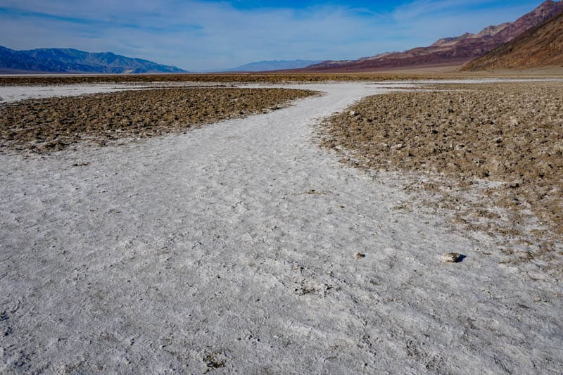 Badwater Basin Death Valley NP California