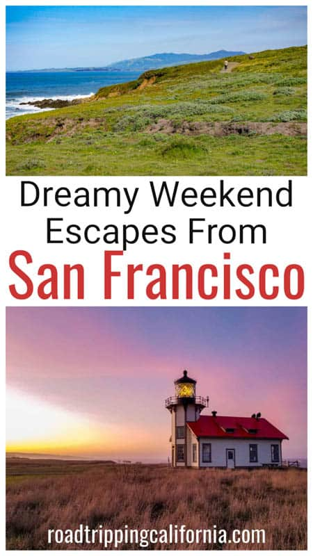 Discover the most exciting San Francisco weekend getaways! San Francisco weekend trips | best getaways from San Francisco | short trips from San Francisco