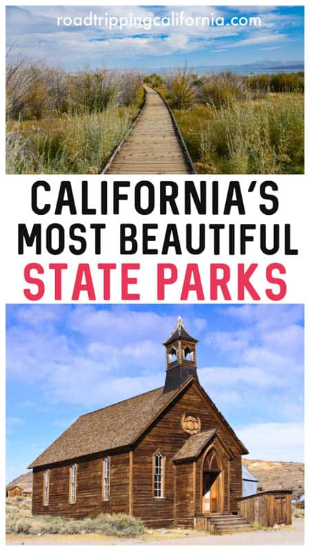Plan a trip to one or more of these beautiful California state parks, from the coast of Big Sur to the mountains of Sierra Nevada! #hiking #photography #stateparks