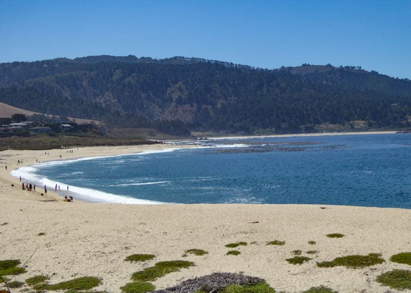 Carmel River State Beach in California