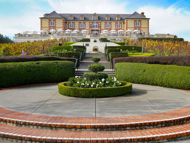 Domaine Carneros Winery in Napa California