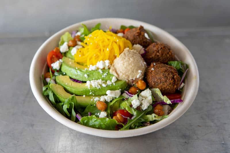 Falafel Salad at Gott's California