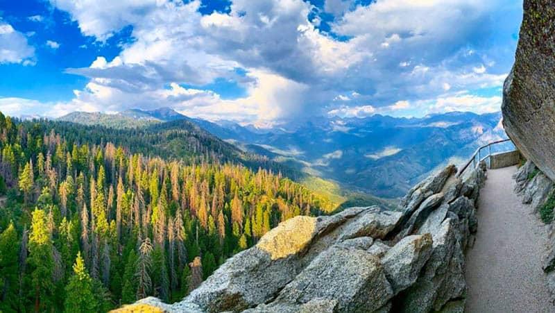 Moro Rock Sequoia NP California
