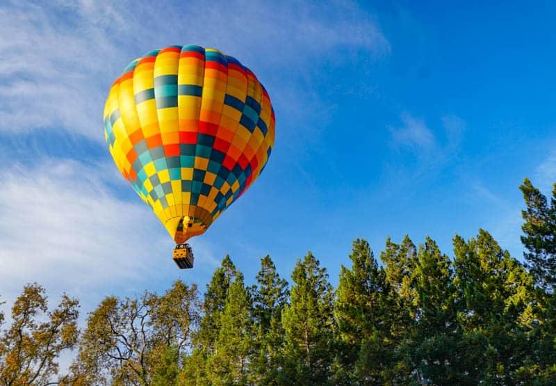 Napa Valley Hot Air Balloon Ride California