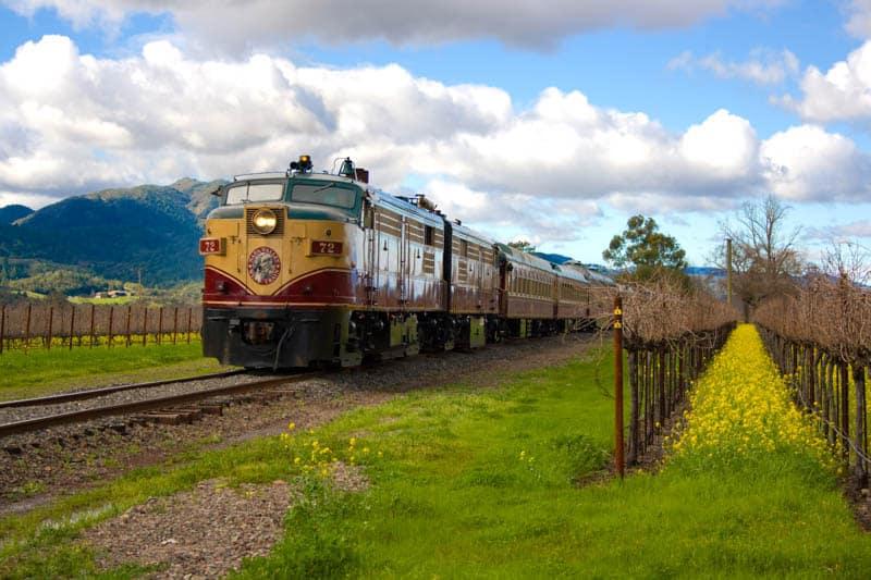 Napa Valley Wine Train Napa Valley California