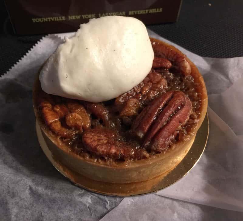 Pecan Tart Bouchon Bakery Yountville California