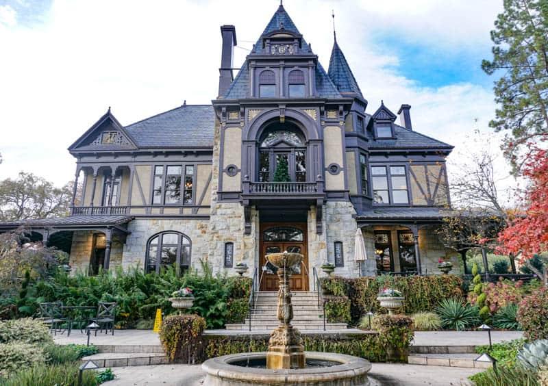 Rhine House in Napa Valley California