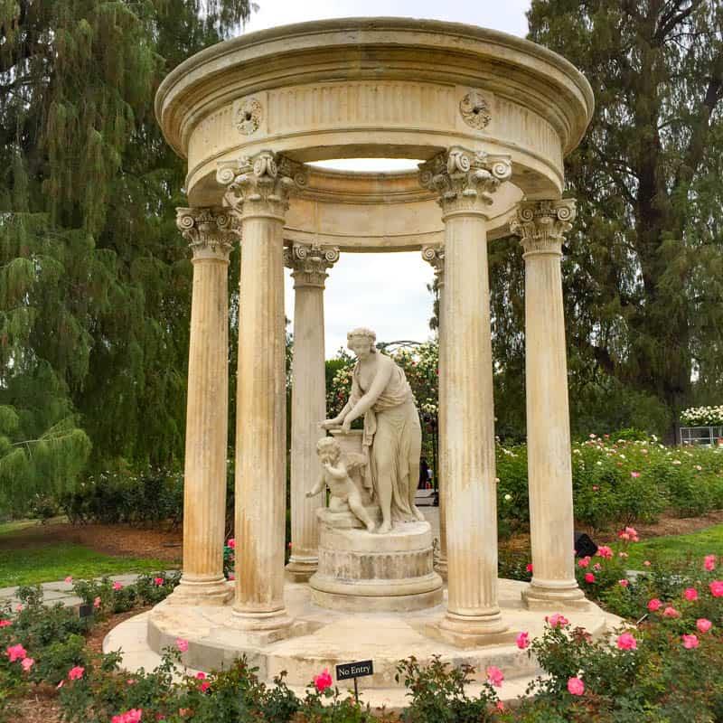 Rose Garden The Huntington San Marino California