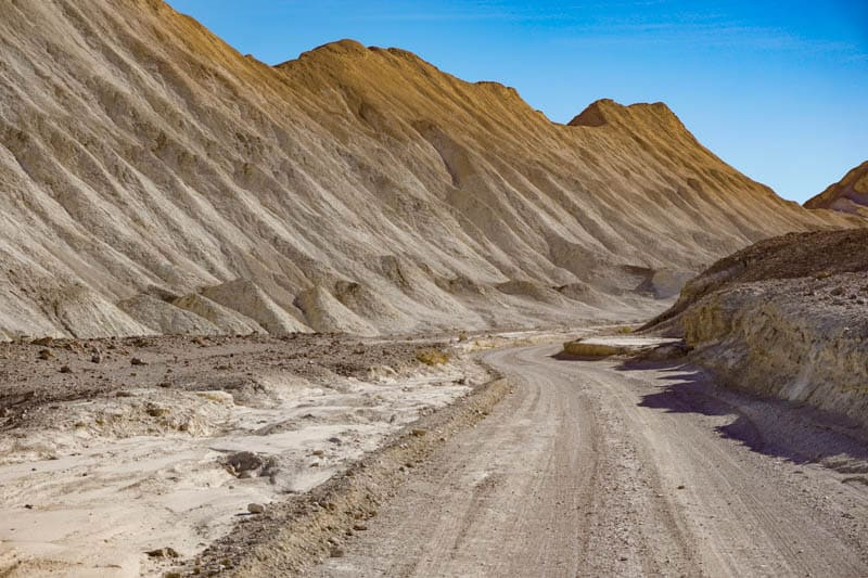 Twenty Mule Canyon Road Death Valley NP California
