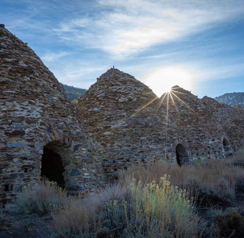 Wildrose Charcoal Kilns Death Valley NP California