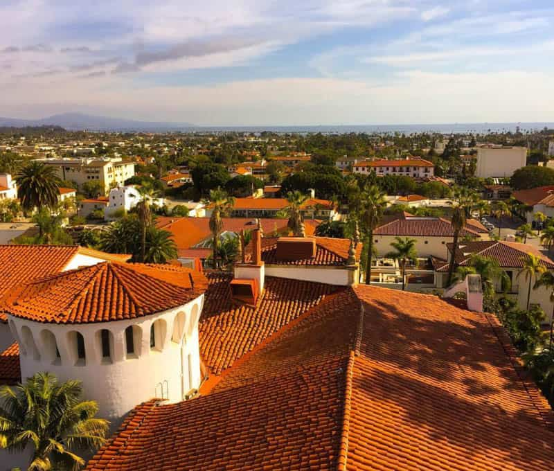 A view of Santa Barbara California