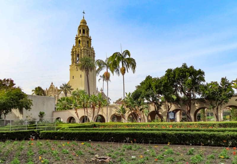 Alcazar Garden Balboa Park San Diego California