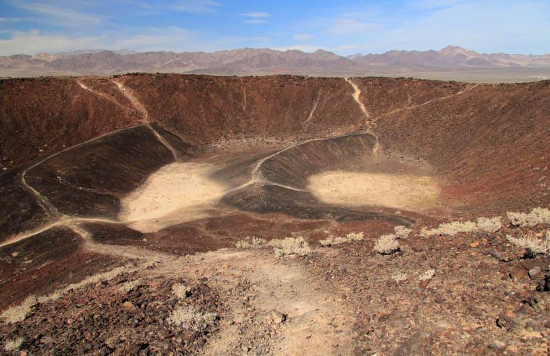 Starkly beautiful Amboy Crater in southeastern California