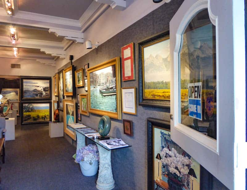 An Art Gallery in Carmel California