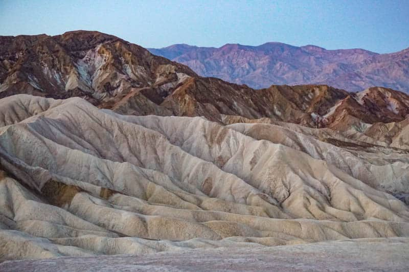 Badlands at Death Valley National Park California