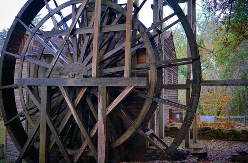 Bale Grist Mill State Historic Park Napa Valley California