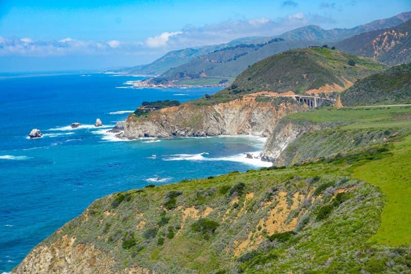 Big Sur Coast California Scenic Overlook