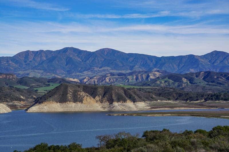 Cachuma Lake Santa Ynez Valley California