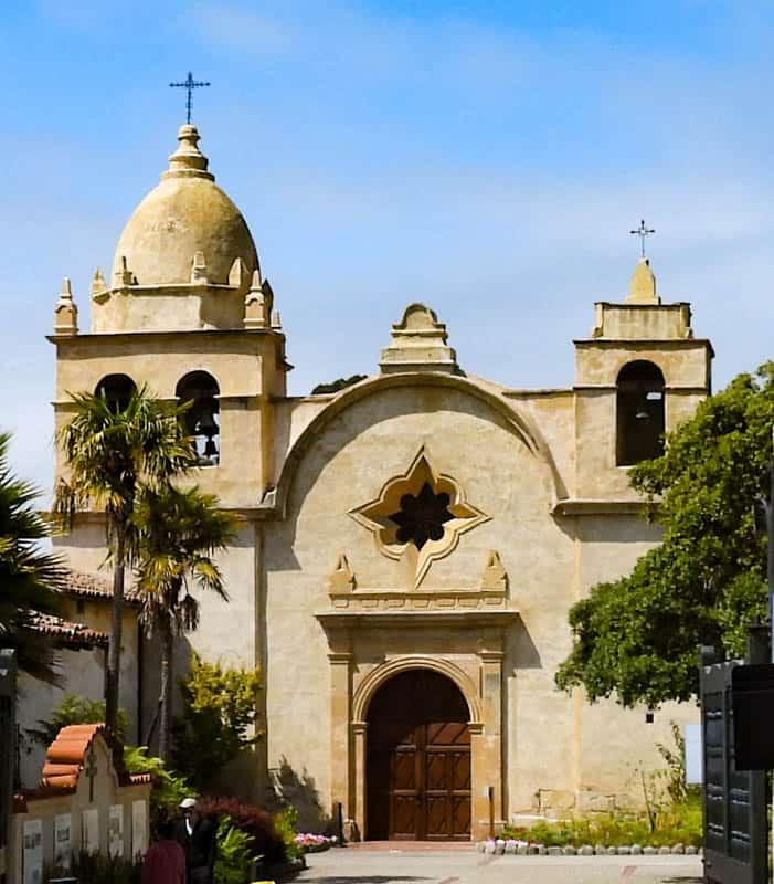 Carmel Mission Basilica Carmel California