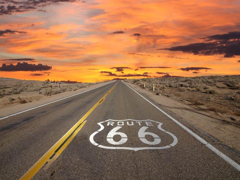 Historic Route 66 in California